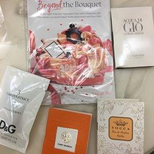 Sephora Samples Tory Burch  & Dolce Gabbana